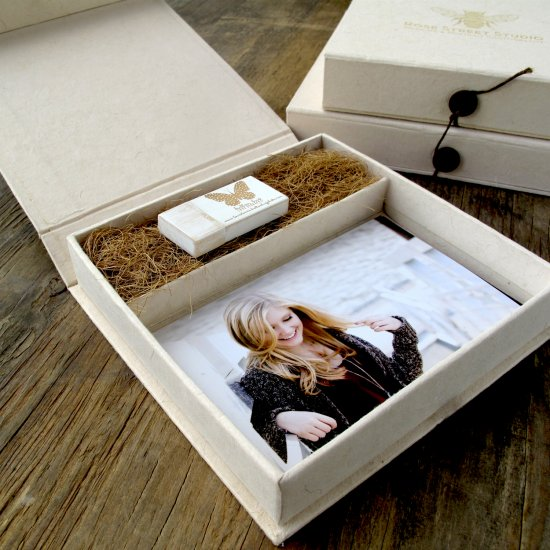 USB PACKAGING COMBO BOXES ( USB + PRINTS)