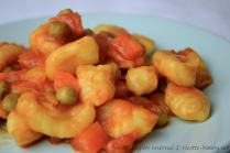 Gnocchi con sugo di verdure bimby 2