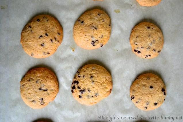 Biscotti con gocce di cioccolato bimby 4