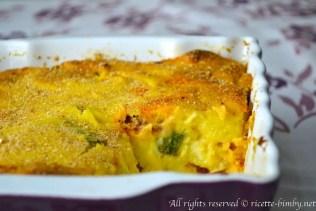 Gateau di patate e zucchine bimby 4