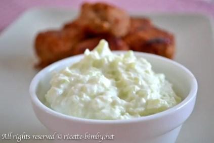 Tzatziki senza aglio bimby 1