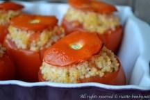 Pomodori ripieni di miglio bimby