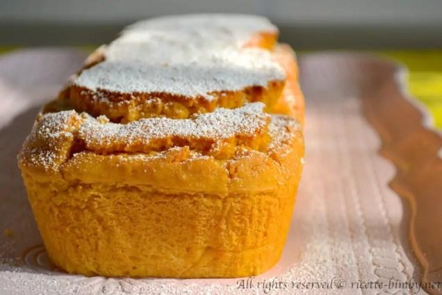 Plumcake alla zucca senza glutine bimby