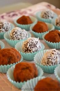 Tartufi al cioccolato fondente bimby