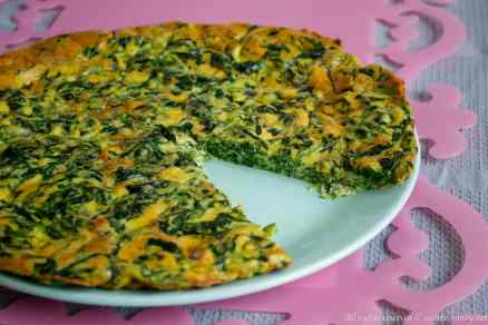 Frittata di spinaci bimby