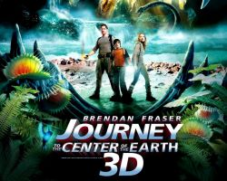 JOURNEY TO THE CENTER OF THE EARTH 3-D: 3 STARS