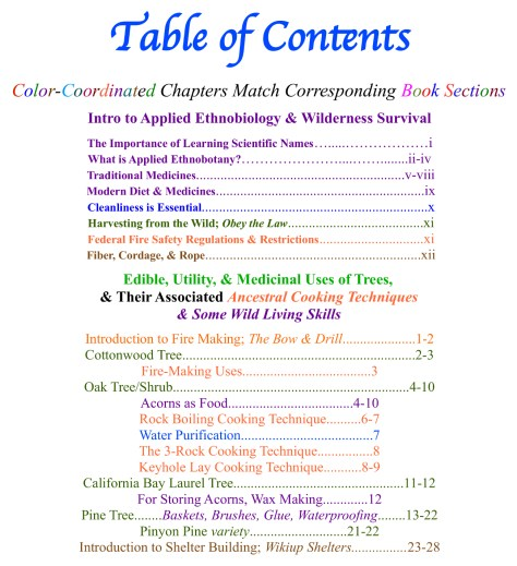 Table of Contents ad1