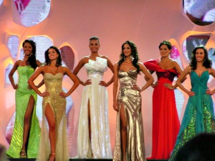 The Miss Colombia beauty pageant