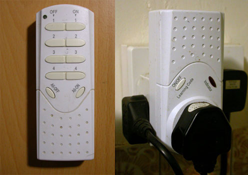 SMJ Electrical remote and socket