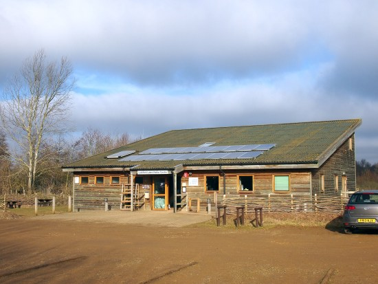 Visitor centre - newly upgraded in January