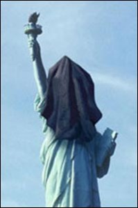 Lady Liberty Laid Low, Rumsfeld Must Go