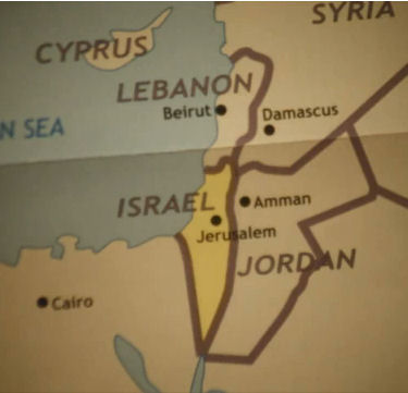 Israel has annexed the West Bank and Gaza in map featured in Size Doesn't Matter video