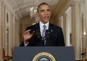 Conceding the Inevitable, Obama's Backs Down