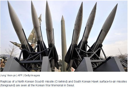 north korean missles