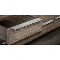 Contemporary Steel Edge Pull - 576 - Richelieu Hardware
