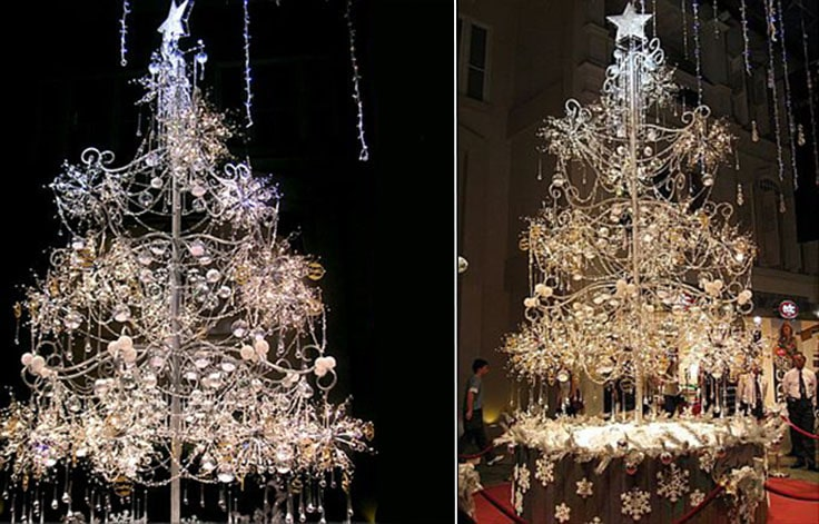 Soo Kee Jewellery Diamond Christmas tree