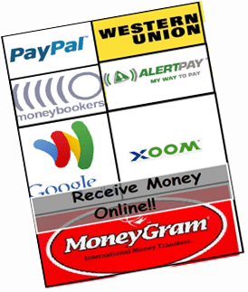 Freelancers can receive money online