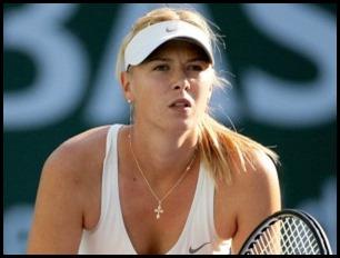 Maria Sharapova wears tiffany