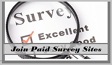 Online paid survey sites