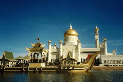 Istana Nurul Iman palace in Brunei