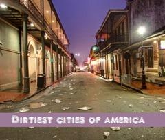 dirtiest cities of america