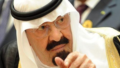 king abdullah bin abdul aziz