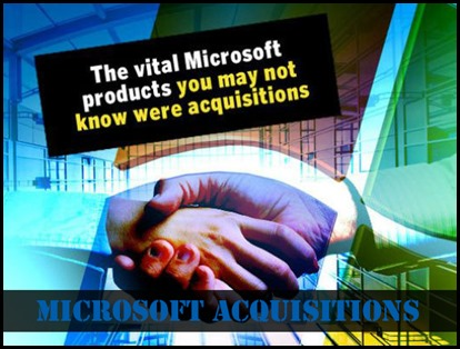 Which Companies have been Acquired by Microsoft so far