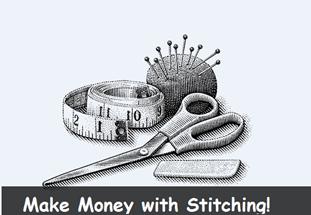 Make Money By Stitching