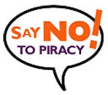 no to piracy in 2014
