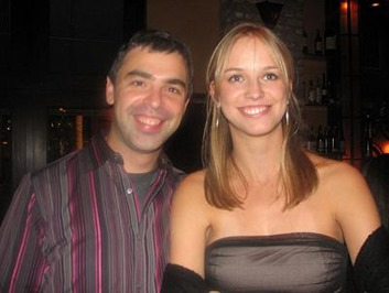 Larry Page and Lucy Southworth