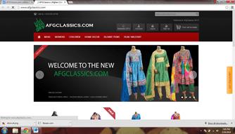 AFGClassics.com Afghani Online Shopping Website