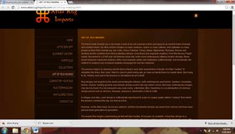 Rugimports.com Afghani Online Shopping Website