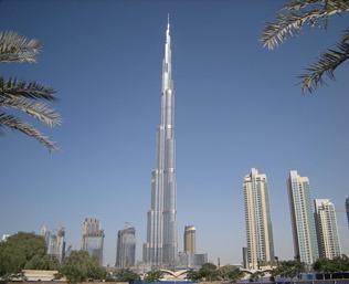 Burj Khalifa place to enjoy in Dubai