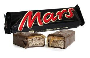 Mars best selling chocolate