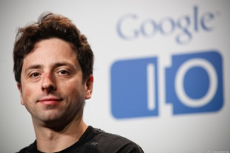 Sergey Brin business tycoon from the IT industry