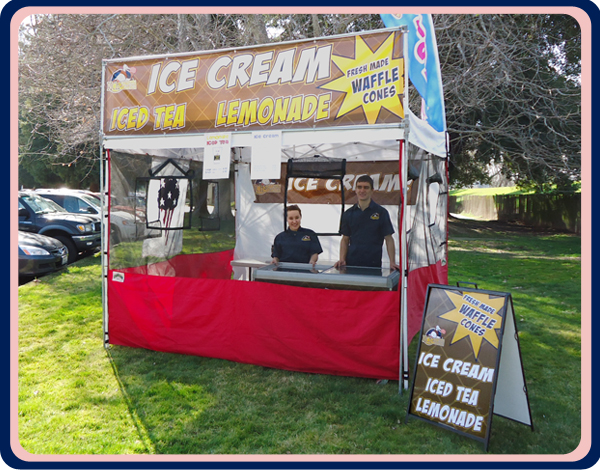 Rich's Ice Cream Catering Vendor Events Booth