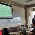 Pablo Castellanos en su charla acerca de GnuPG