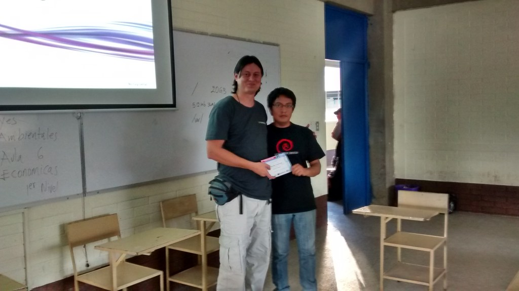 receiving an diploma