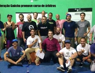 Federação Gaúcha promove curso de árbitros