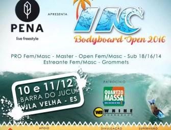 INC Bodyboard Open 2016 convoca e informa