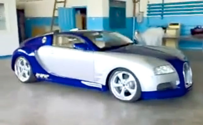 rides cars bugatti veyron bmw 6 series fake
