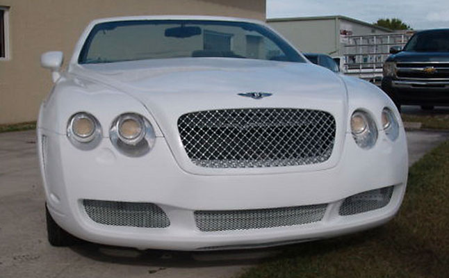 cars rides bentley continental gtc chrysler sebring body kit