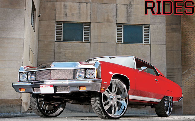rides cars 1971 Chevy caprice chi-town donk chicago
