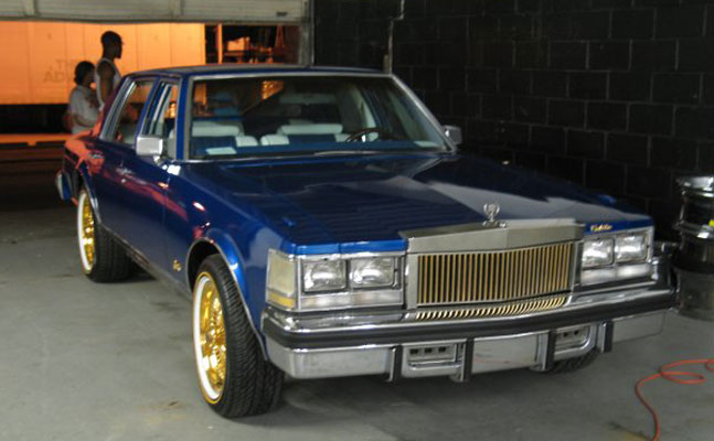 rides cars 1976 cadillac seville cotd