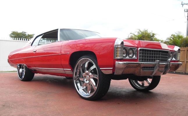 rides cars 1971 chevrolet impala donk