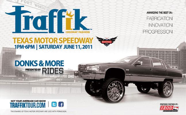 rides cars traffik show texas motor speedway