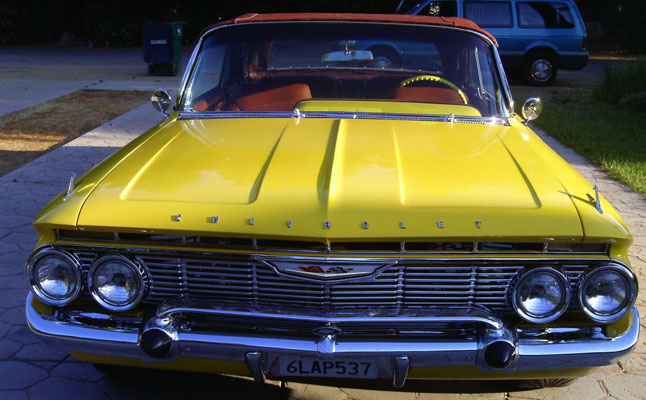 rides cars chevrolet impala ss vert 1961
