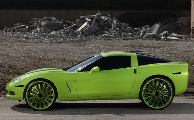 rides cars spade kreations corvette wallpaper