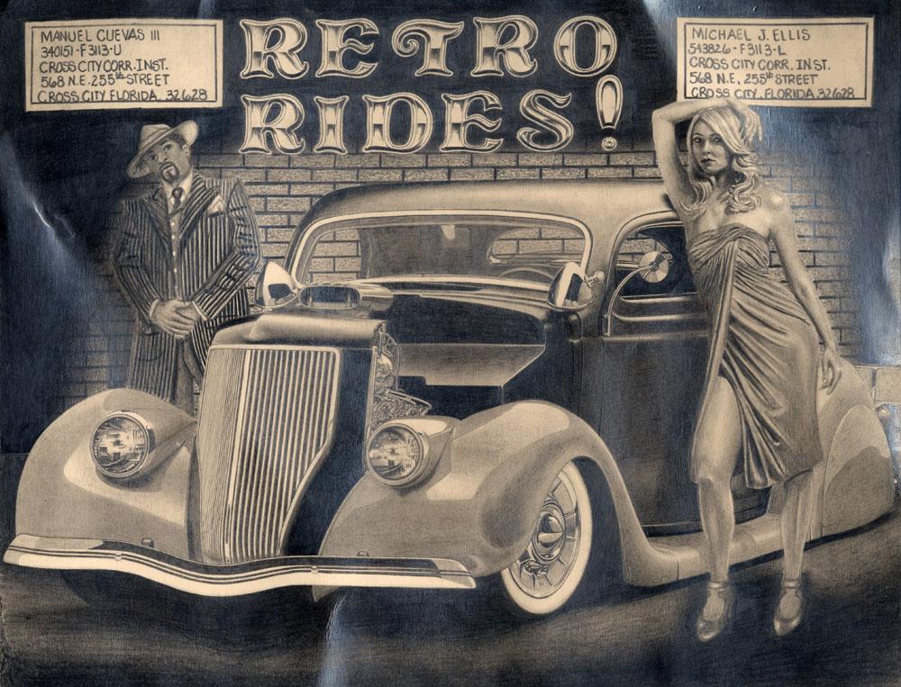 rides cars manuel vuevas iii 3 cross city florida retro