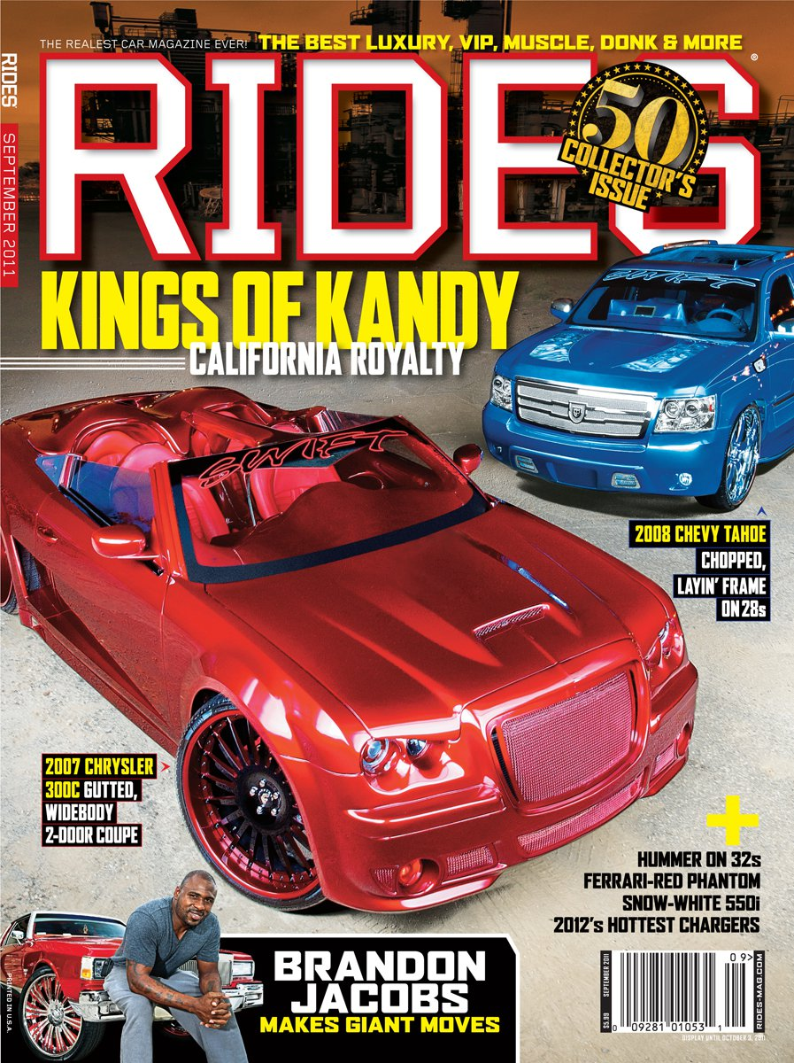 rides cars issue 50 cover september 2011